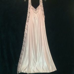 Other - Pink Lace Toga Style Full Length Nightgown
